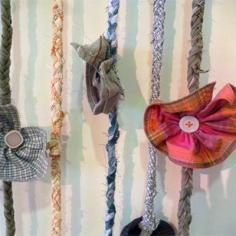Cols de chemises cousus en forme de fleur